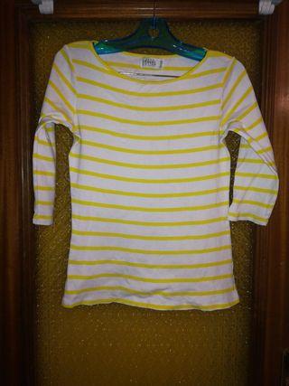 dd0019400 Camisetas Zara mujer de segunda mano en Madrid en WALLAPOP