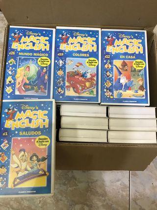 Cintas VHS Disney Magic English