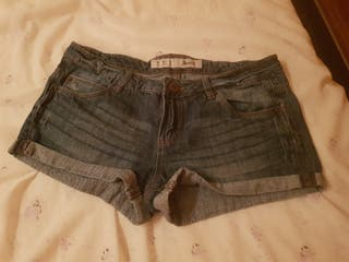 2 MINI SHORTS TALLA 36