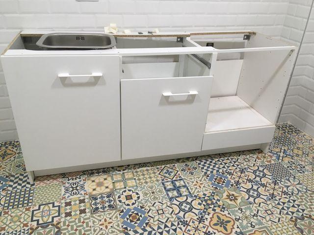 Muebles de cocina Ikea de segunda mano por 290 € en Alicante en WALLAPOP