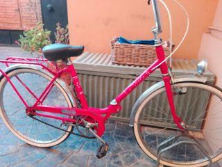 Bici clásica BH roja !
