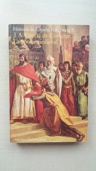 Libro Historia de España Alfaguara II. García.