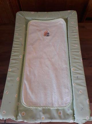 Colchoneta cambiador bebé acolchado 45x75cm