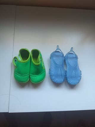 sandalias piscina bebe