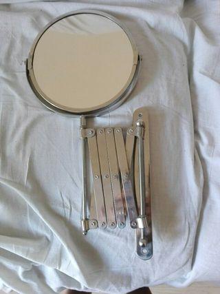 Espejo de lavabo de aumento