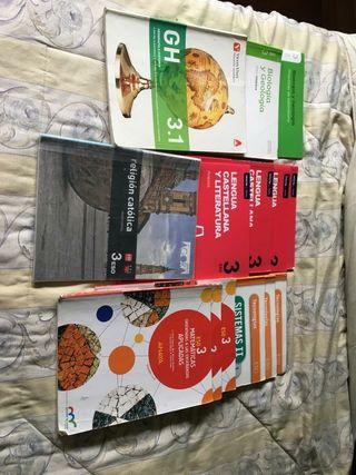 libros 3 eso