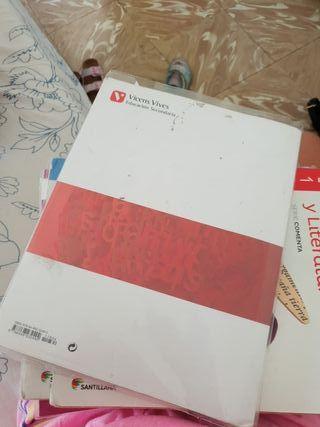 Libro castellano 1 de eso Vicens Vives
