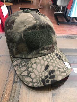 Gorra militar camuflaje verde