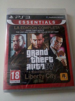 GTA 4 IV completa Precintado PS3