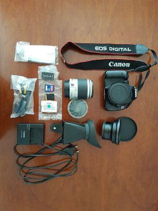 Camara reflex CANON EOS 600D+28-90mm+Accesorios