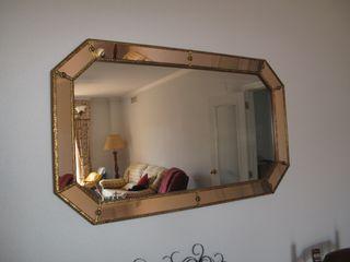 Gran espejo veneciano.