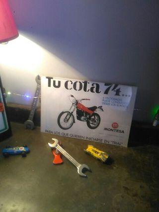 publicidad Montesa cota 74