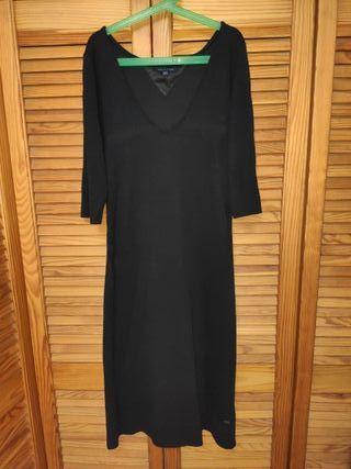 Vestido Tommy Hilfiger talla L negro