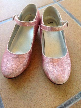 Zapatos tacón 31 niña