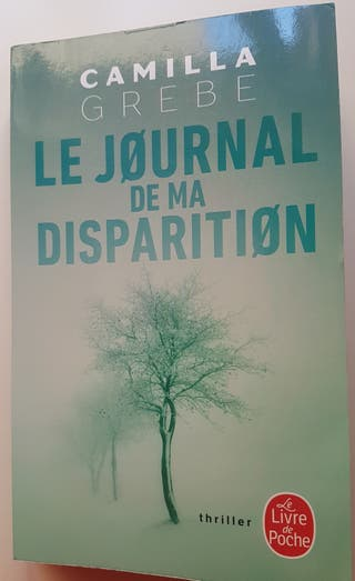 Le journal de ma disparition, Camilla Grebe