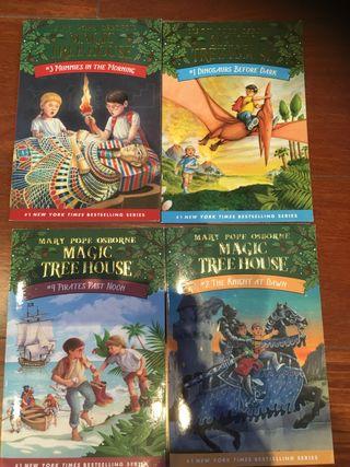 Magic tree house 1-4