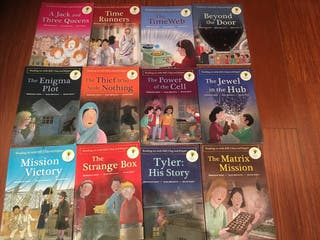 Oxford reading tree stages 10-11 time chronicles