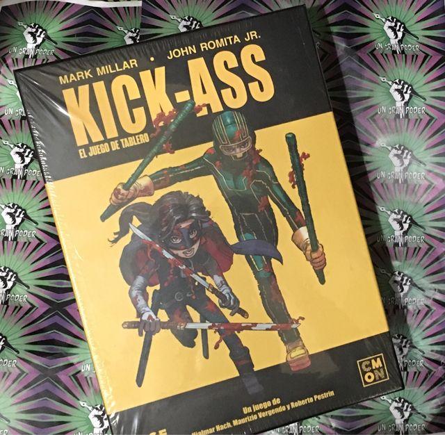 KICK-ASS JUEGO DE TABLERO EDGE
