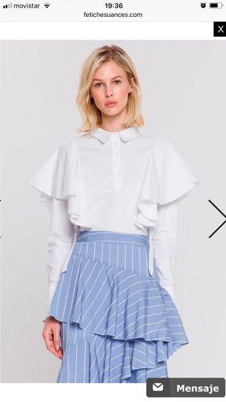 Camisa blanca Fetiche Suances
