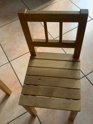 2 sillas para nenes