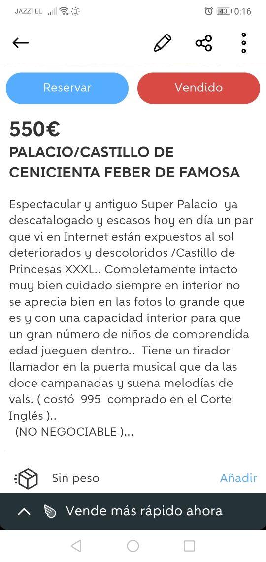Castillo de Princesas XXXL