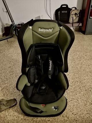 asiento porta niño para coche como nuevo