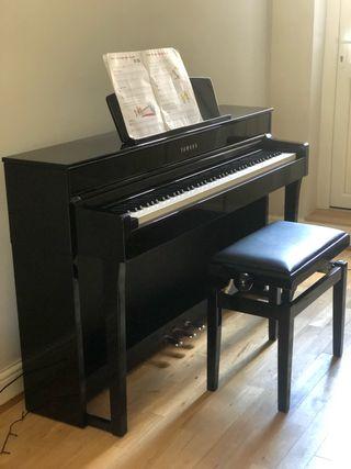 Piano Yamaha Clavinova C 645 polished ebony black