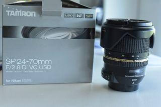 Tamron 24-70 2.8 di VC USD, para Nikon
