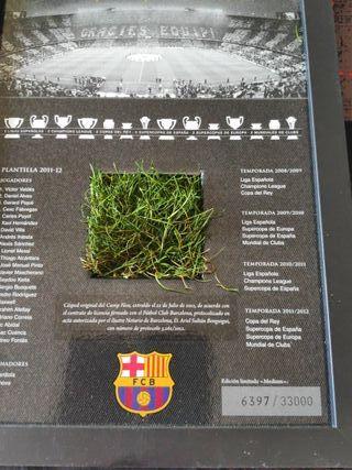 césped original Camp Nou edición limitada