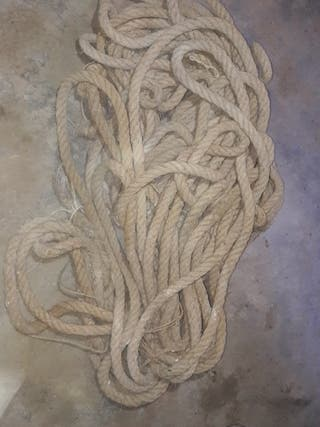 Cuerda albañil antigua