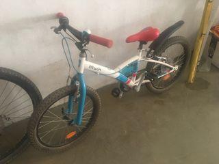 Vendo bicicleta btwin niños con poco uso