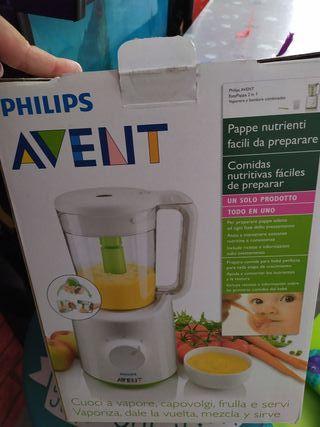 procesador de alimentos para bebés philips