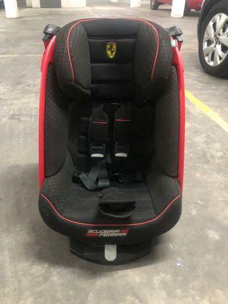 silla coche Ferrari grupo1,2 +isofix