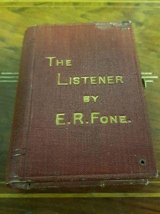 antigua radio de coleccion de galena