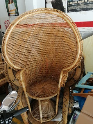 sillón de mimbre Emmanuel