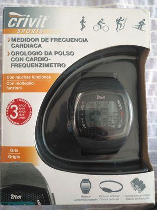 Reloj medidor de frecuencia cardíaca