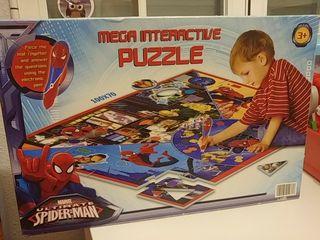 puzzle spiderman interactivo