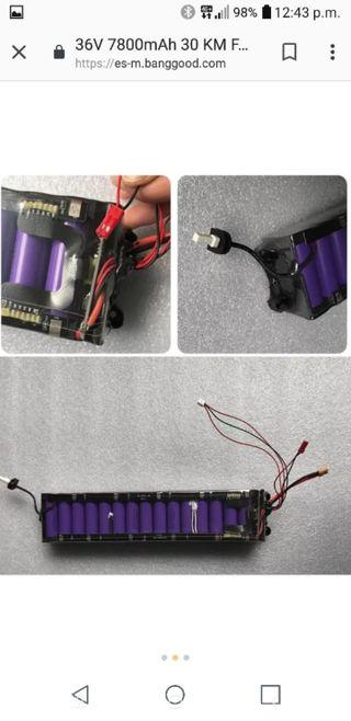 Bateria de patinete completamente nueva