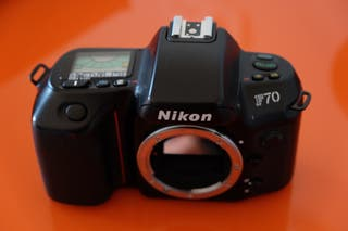 Nikon F70,Analógica.NUEVECITA