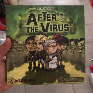 Juego de mesa After the virus