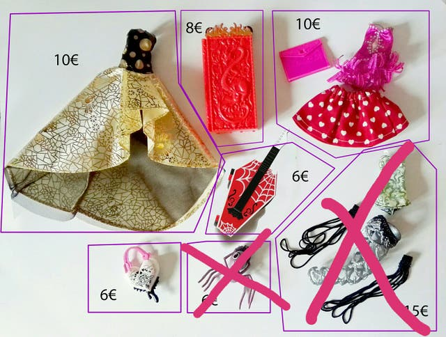 ACCESORIOS MONSTER HIGH