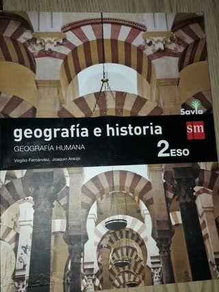Libro de 2 de la eso Geografia e historia