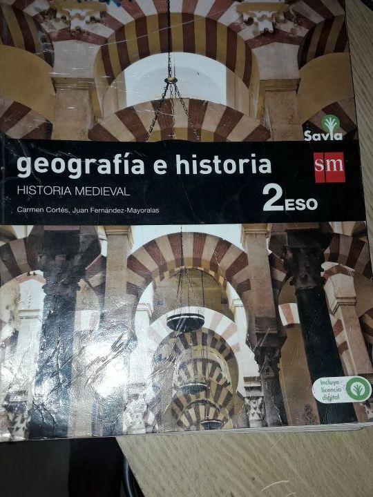 Libro de 2 de la eso de geografia e historia