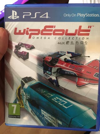 Wipeout Omega colection PS4