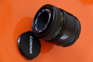 Macro 90 mm.Cosina Voigtlander. F 3,5 para Nikon