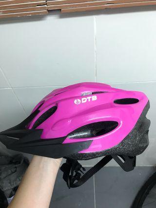 Casco bici chica
