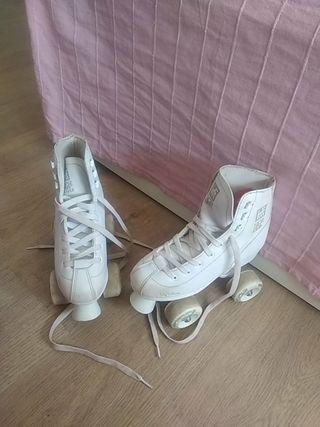 patines 4 ruedas talla 34