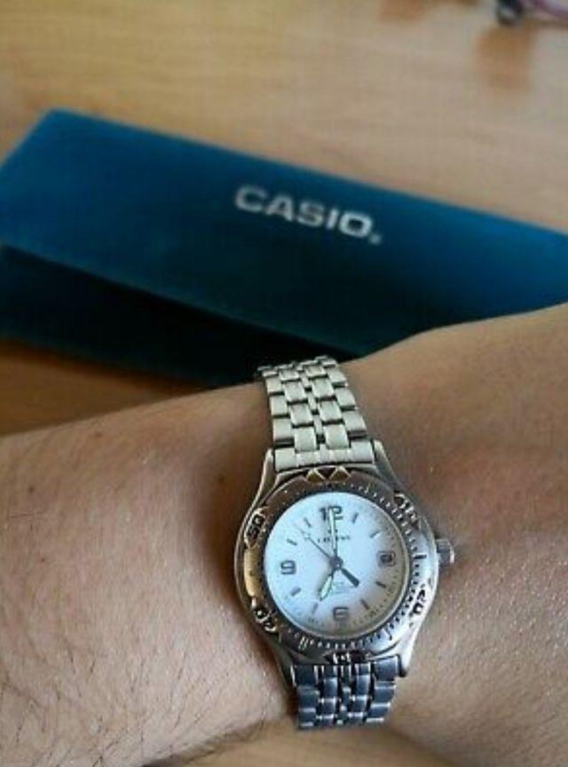 Reloj Casio unisex acero inoxidable