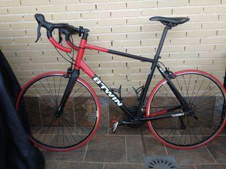 Bicicleta de carretera Triban 520 talla XL