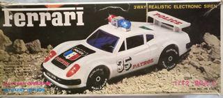 Ferrari Electric Highway Patrol 1980s Escala 1/12